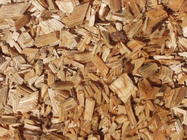 Softwood woodchip